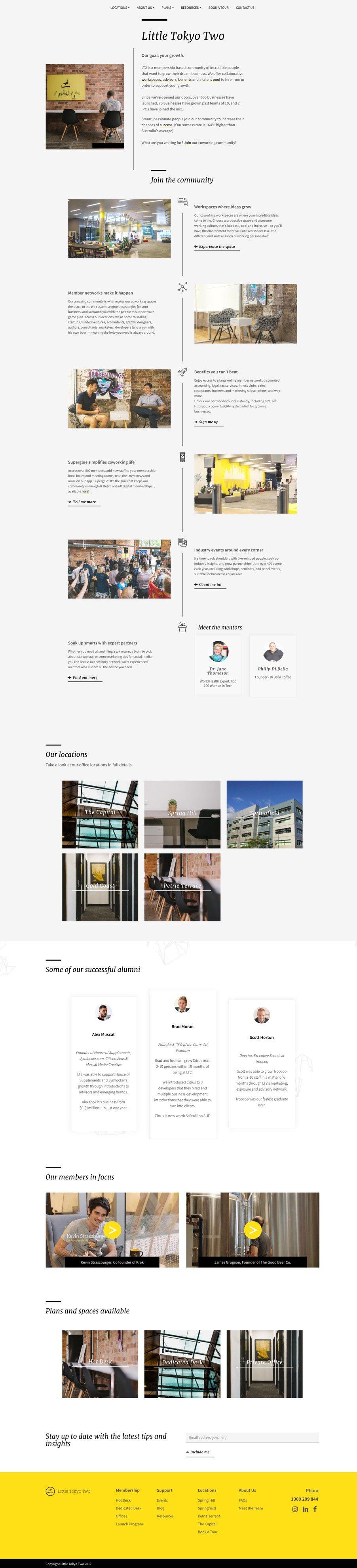 Little Tokyo Two Website Screenshot